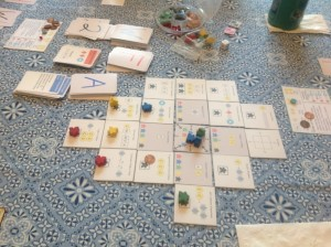 An earlier prototype of Alchemy Bazaar in action