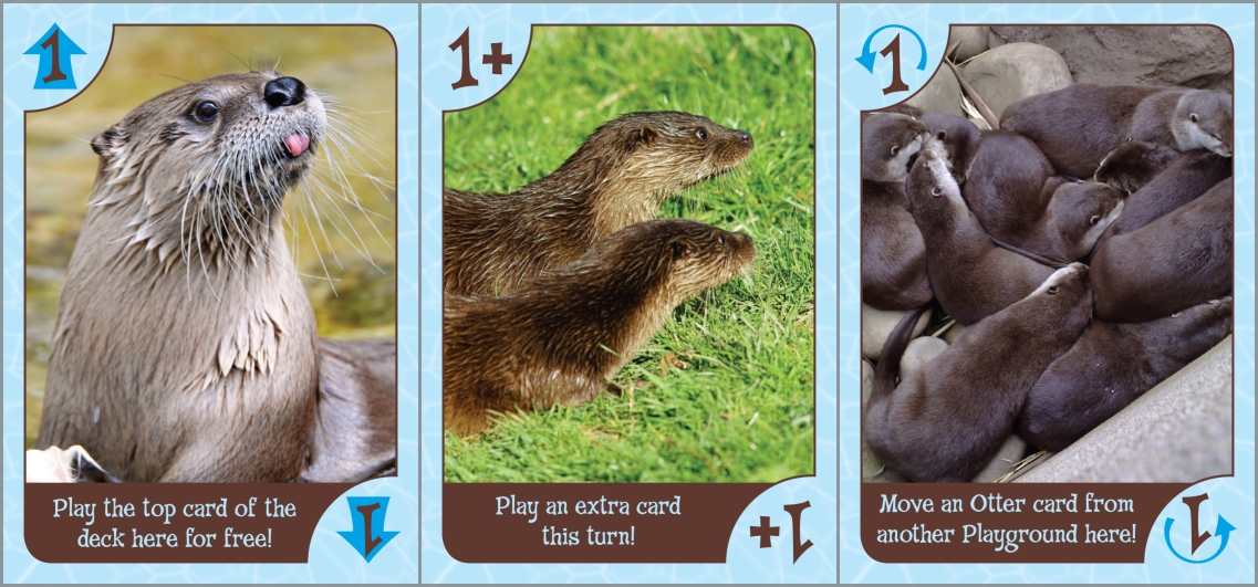 Special Otters cards